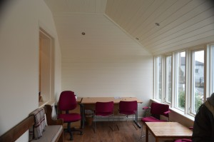 Inside Clitheroe Meeting House